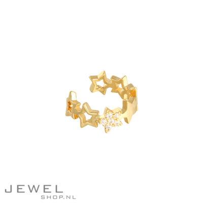 Gold star Earcuff