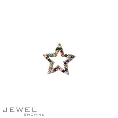 Liberty Star Stud Oorbel